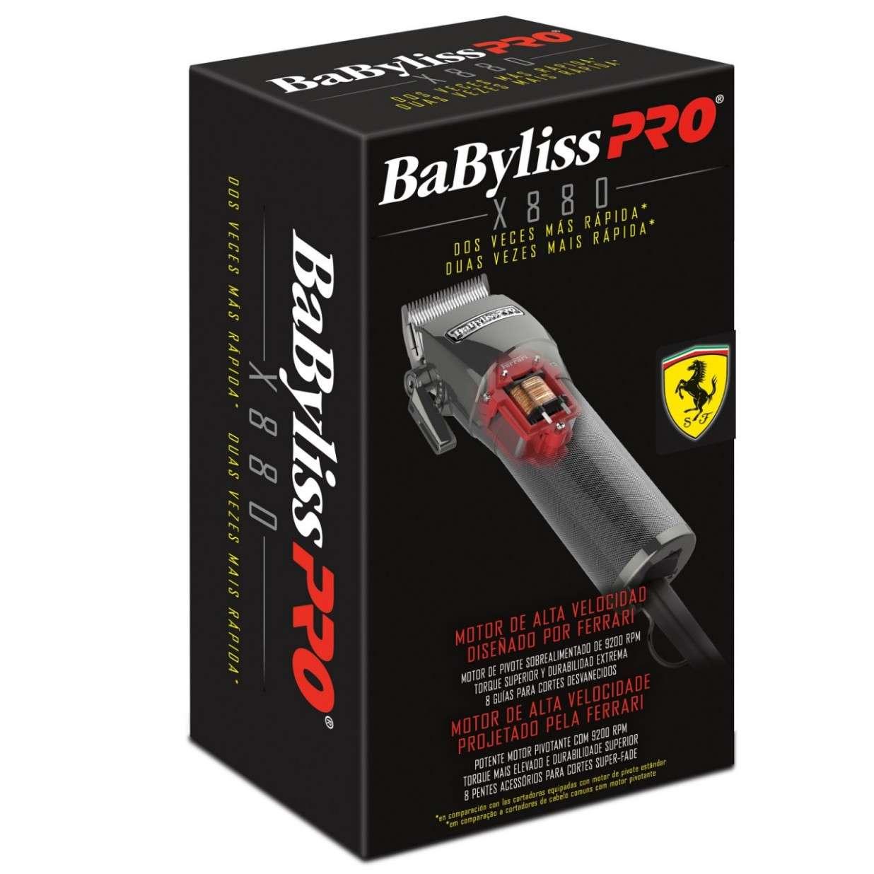 ... Máquina de Corte Profesional Super Fade X880 con Motor Ferrari +  Regalo. Previous. Next aeee9740cbb3